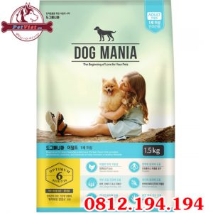 Dog Mania Adult gói 1500g