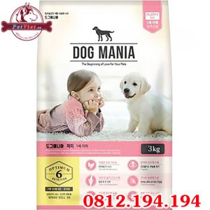 Dog Mania Puppy gói 3000g
