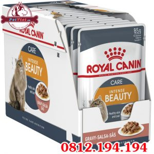 Pate cho Mèo Royal Canin Intense Beauty In Gravy