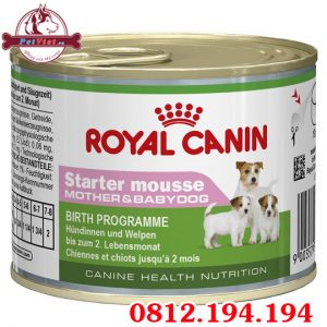 Royal Canin Starter Mousse lon 195g
