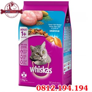 Whiskas Adult Ocean Fish gói 1200g
